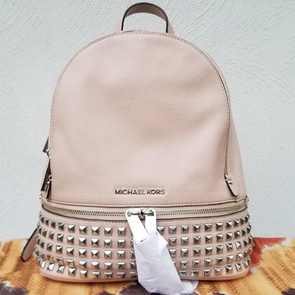 4320c4a6ff9d Michael Kors Rhea Studded Backpack